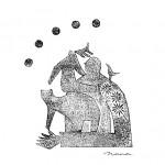 クマと旅をする装画